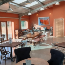 Inside Park View Cafe